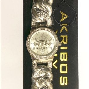 AKRIBOS Watch Stainless Steel